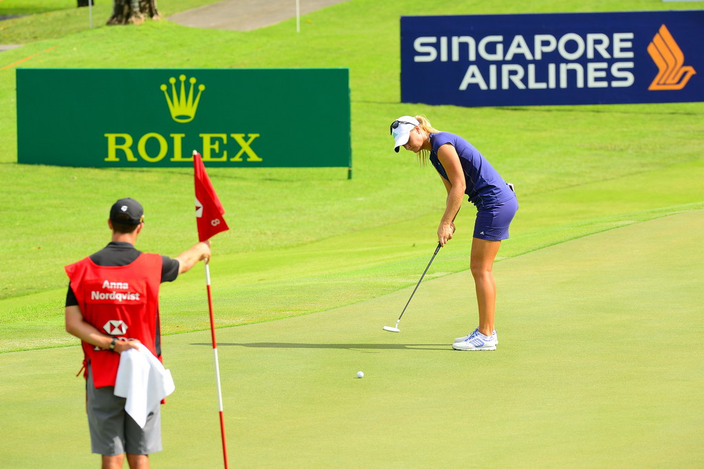 freelance sponsor hsbc lpga singapore golf event