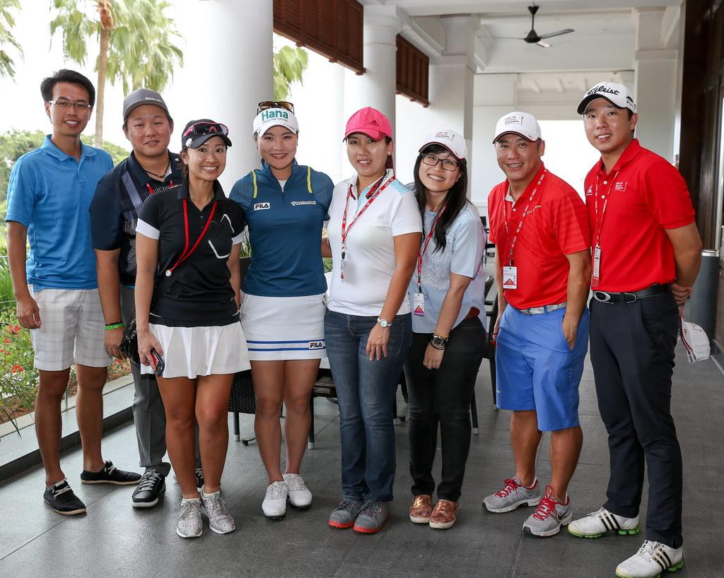 golf event freelance sponsor singapore hsbc lpga