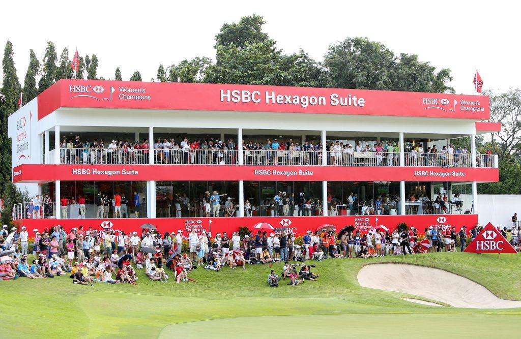 sport singapore golf event social media