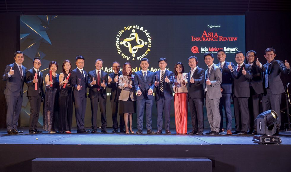 4th Asia Trusted Life Agents & Advisers Awards.
